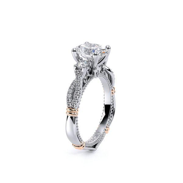 Parisian Three Stone Engagement Ring Image 3 SVS Fine Jewelry Oceanside, NY