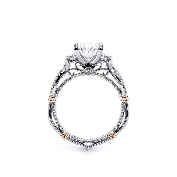 Parisian Three Stone Engagement Ring Image 4 SVS Fine Jewelry Oceanside, NY