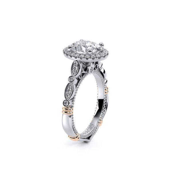Parisian Halo Engagement Ring Image 4 SVS Fine Jewelry Oceanside, NY