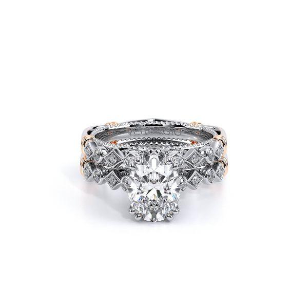 Parisian Vintage Engagement Ring Image 5 SVS Fine Jewelry Oceanside, NY