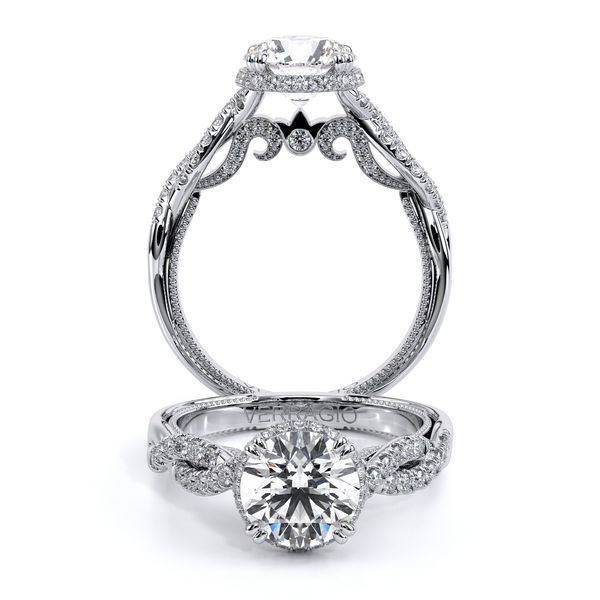 Insignia Halo Engagement Ring SVS Fine Jewelry Oceanside, NY