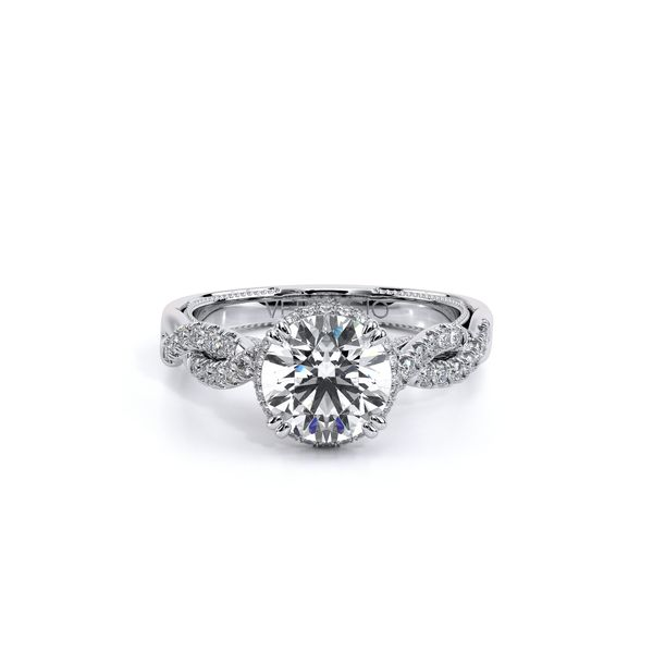 Insignia Halo Engagement Ring Image 2 SVS Fine Jewelry Oceanside, NY