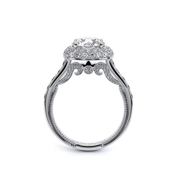 Insignia Halo Engagement Ring Image 4 SVS Fine Jewelry Oceanside, NY