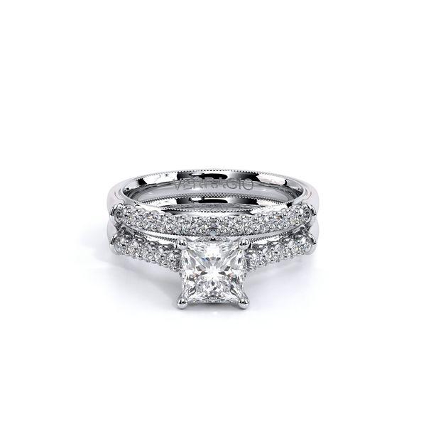 Renaissance Pave Engagement Ring Image 5 D. Geller & Son Jewelers Atlanta, GA