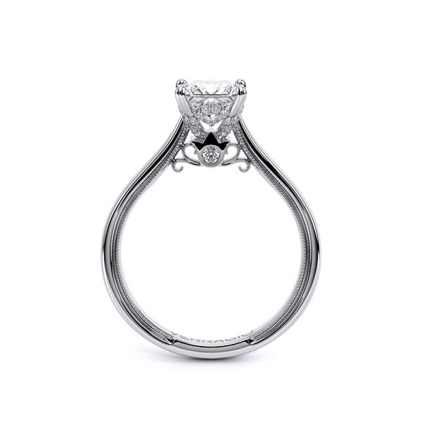 Renaissance Solitaire Engagement Ring Image 4 SVS Fine Jewelry Oceanside, NY