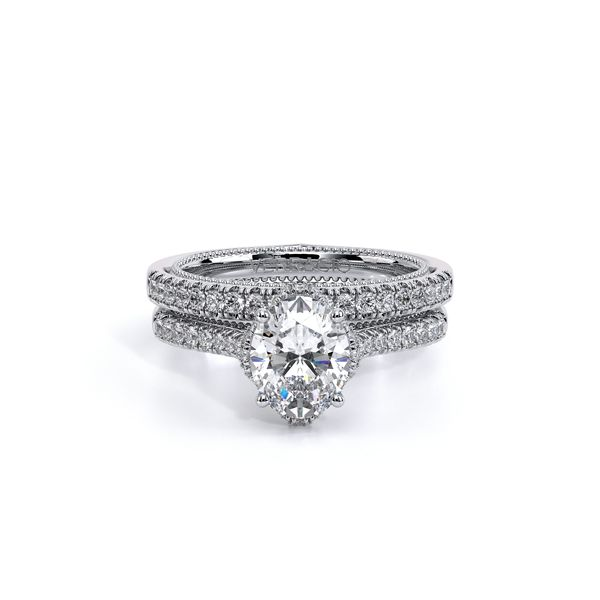 Couture Pave Engagement Ring Image 5 SVS Fine Jewelry Oceanside, NY