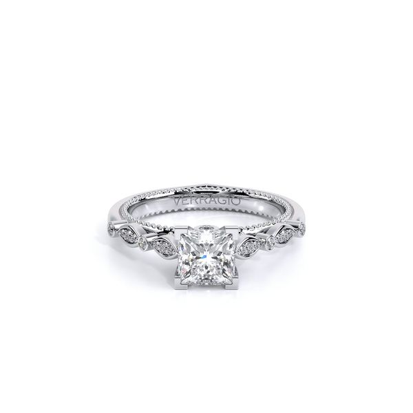 Couture Pave Engagement Ring Image 2 SVS Fine Jewelry Oceanside, NY