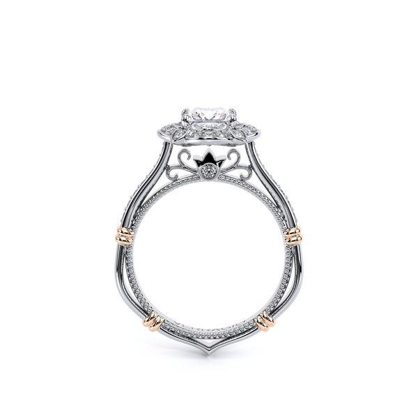 Parisian Halo Engagement Ring Image 4 D. Geller & Son Jewelers Atlanta, GA