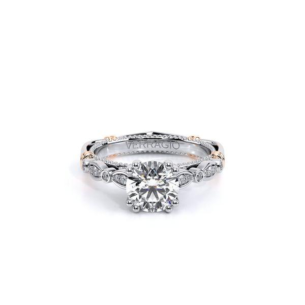 Parisian Vintage Engagement Ring Image 2 D. Geller & Son Jewelers Atlanta, GA