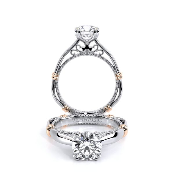 Parisian Solitaire Engagement Ring D. Geller & Son Jewelers Atlanta, GA