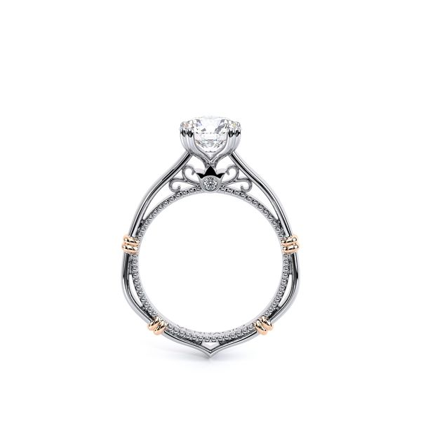 Parisian Solitaire Engagement Ring Image 3 D. Geller & Son Jewelers Atlanta, GA
