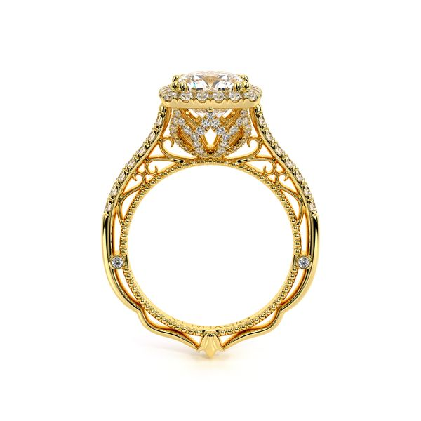 Venetian Halo Engagement Ring Image 3 D. Geller & Son Jewelers Atlanta, GA