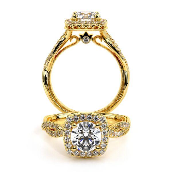 Renaissance Halo Engagement Ring D. Geller & Son Jewelers Atlanta, GA