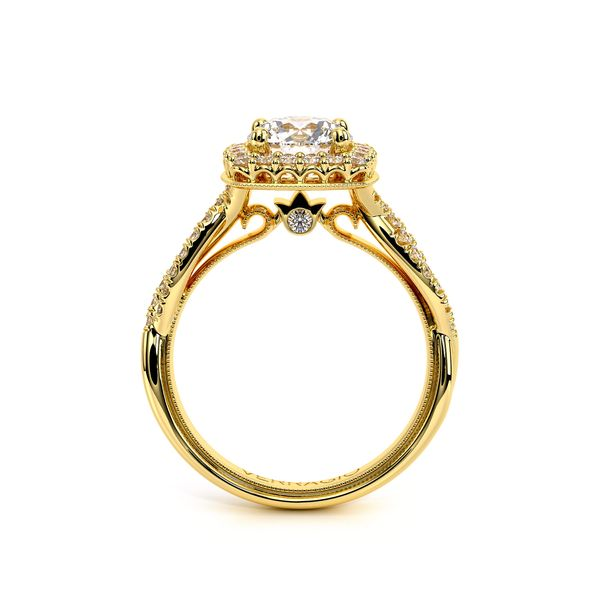 Renaissance Halo Engagement Ring Image 4 D. Geller & Son Jewelers Atlanta, GA