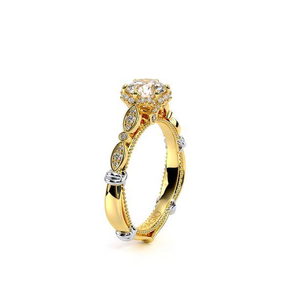 Parisian Halo Engagement Ring Image 3 D. Geller & Son Jewelers Atlanta, GA
