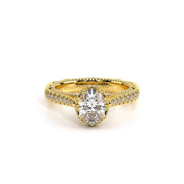 Venetian Pave Engagement Ring Image 2 D. Geller & Son Jewelers Atlanta, GA