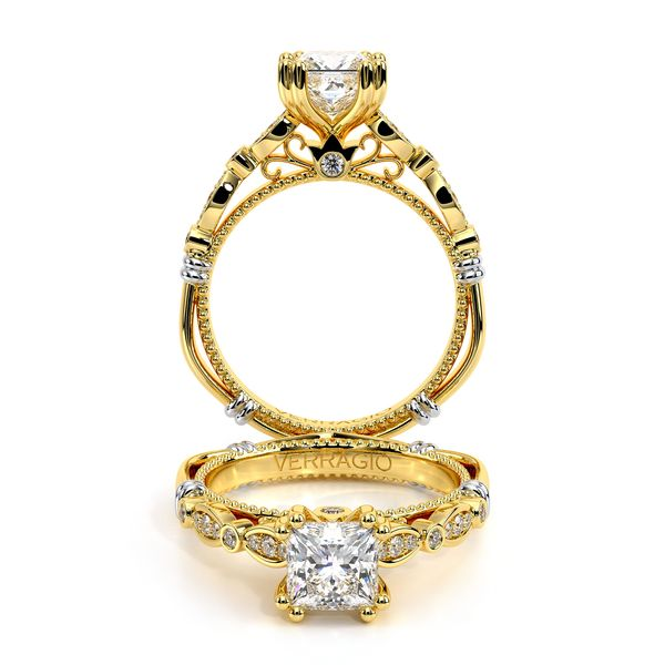 Parisian Vintage Engagement Ring SVS Fine Jewelry Oceanside, NY