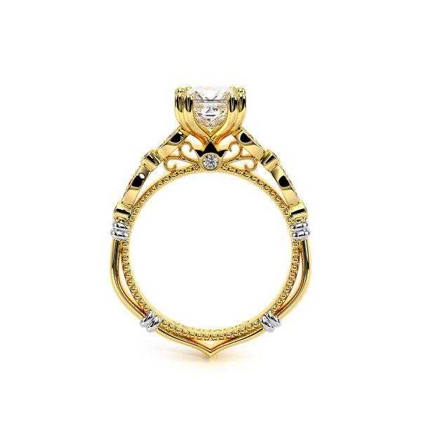 Parisian Vintage Engagement Ring Image 4 SVS Fine Jewelry Oceanside, NY