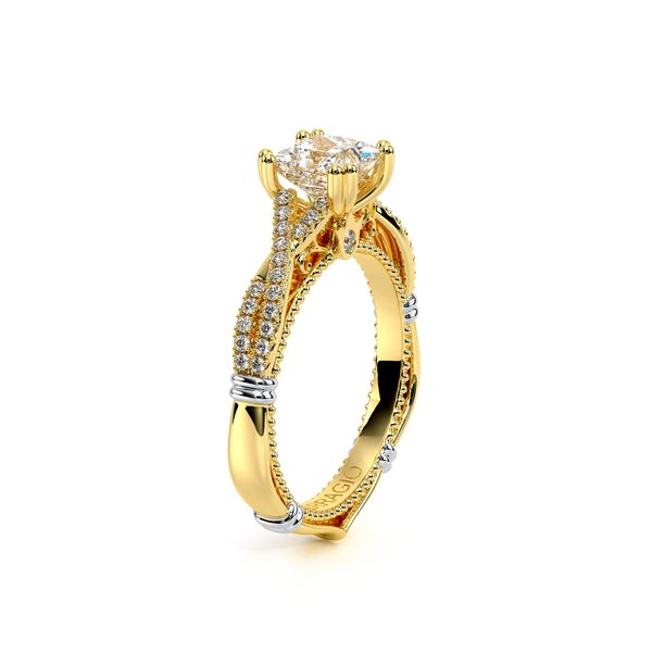 Parisian Pave Engagement Ring Image 3 SVS Fine Jewelry Oceanside, NY