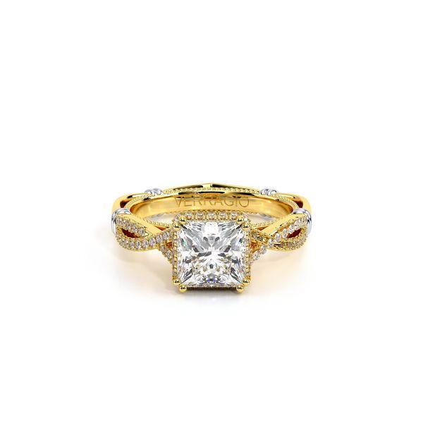 Parisian Halo Engagement Ring Image 2 SVS Fine Jewelry Oceanside, NY