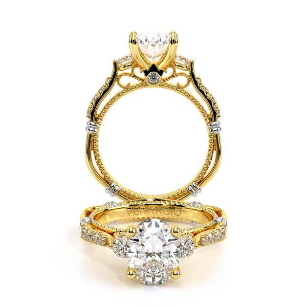Parisian Three Stone Engagement Ring SVS Fine Jewelry Oceanside, NY