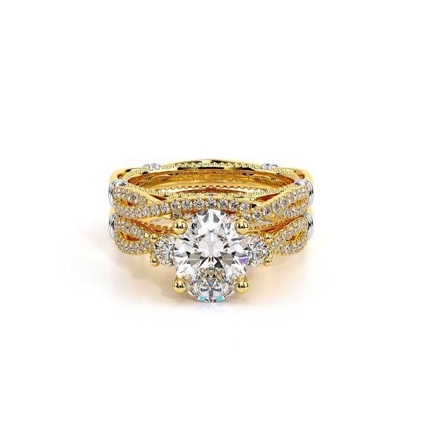 Parisian Three Stone Engagement Ring Image 5 SVS Fine Jewelry Oceanside, NY