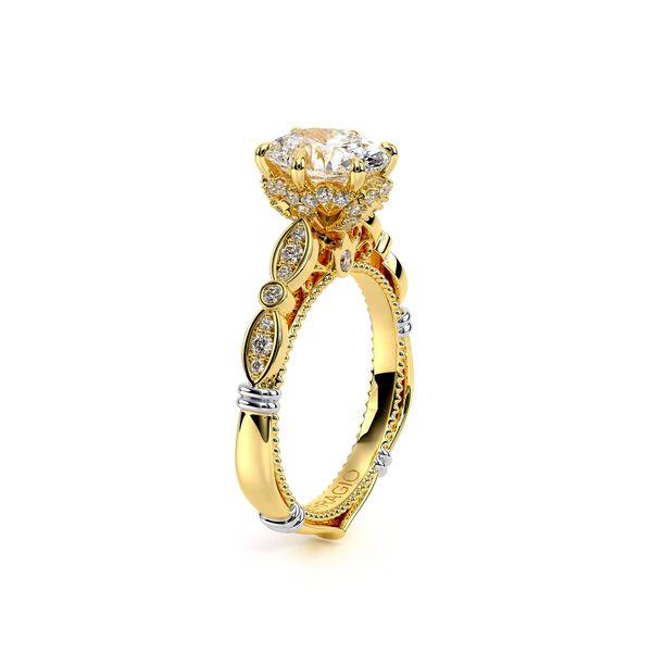 Parisian Halo Engagement Ring Image 3 SVS Fine Jewelry Oceanside, NY