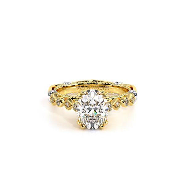 Parisian Vintage Engagement Ring Image 2 SVS Fine Jewelry Oceanside, NY