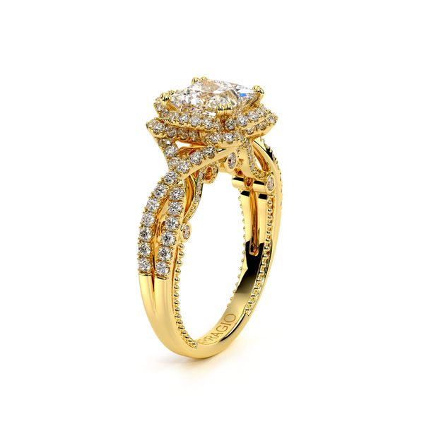 Insignia Halo Engagement Ring Image 3 SVS Fine Jewelry Oceanside, NY
