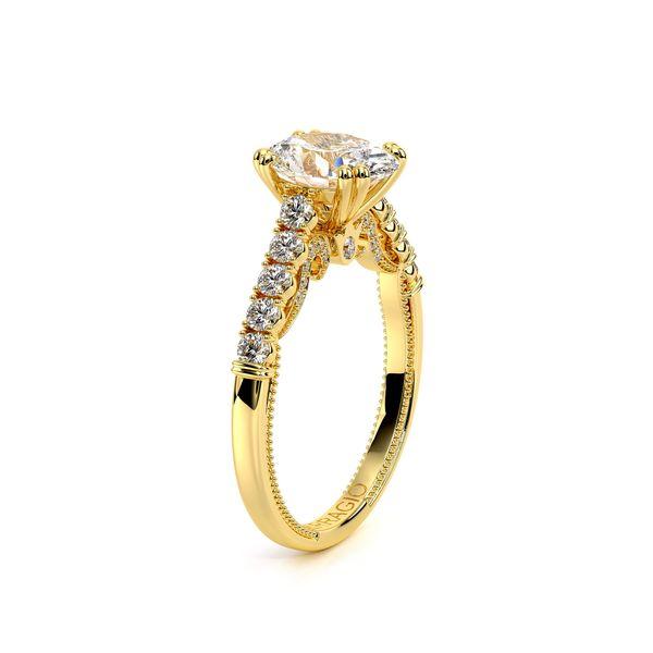 Insignia Pave Engagement Ring Image 3 D. Geller & Son Jewelers Atlanta, GA