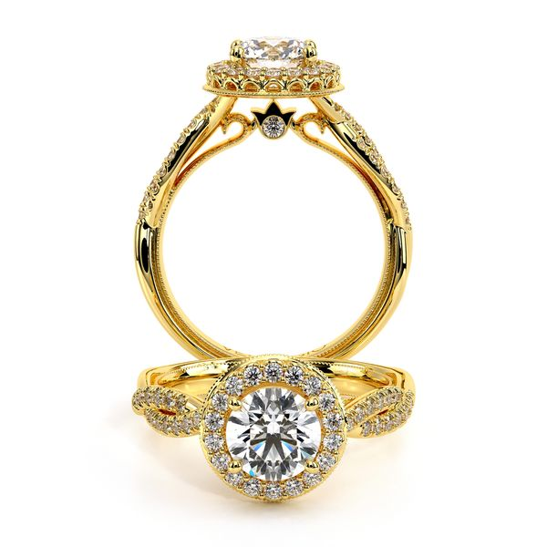 Renaissance Halo Engagement Ring SVS Fine Jewelry Oceanside, NY