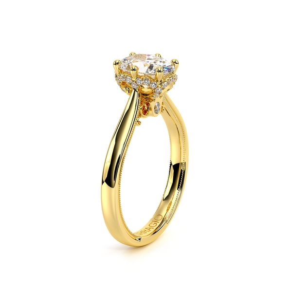 Renaissance Solitaire Engagement Ring Image 3 SVS Fine Jewelry Oceanside, NY