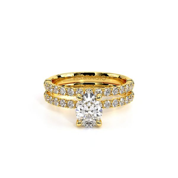Renaissance Solitaire Engagement Ring Image 5 SVS Fine Jewelry Oceanside, NY