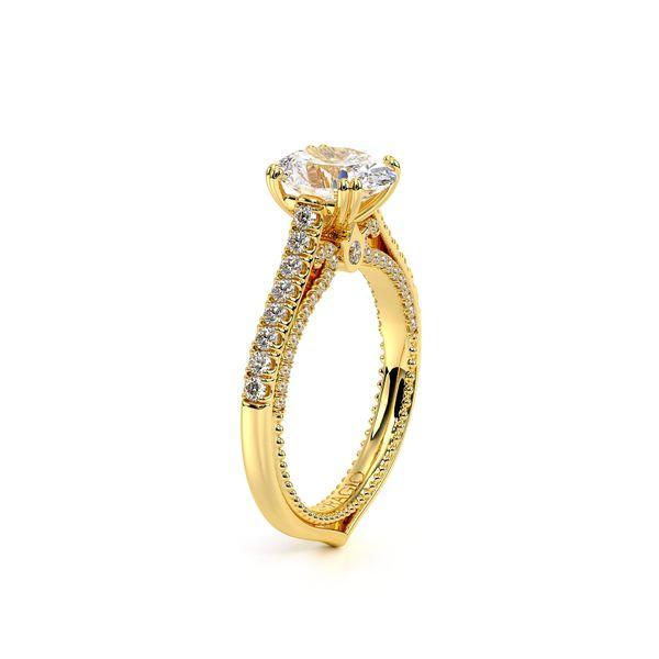 Couture Pave Engagement Ring Image 3 D. Geller & Son Jewelers Atlanta, GA