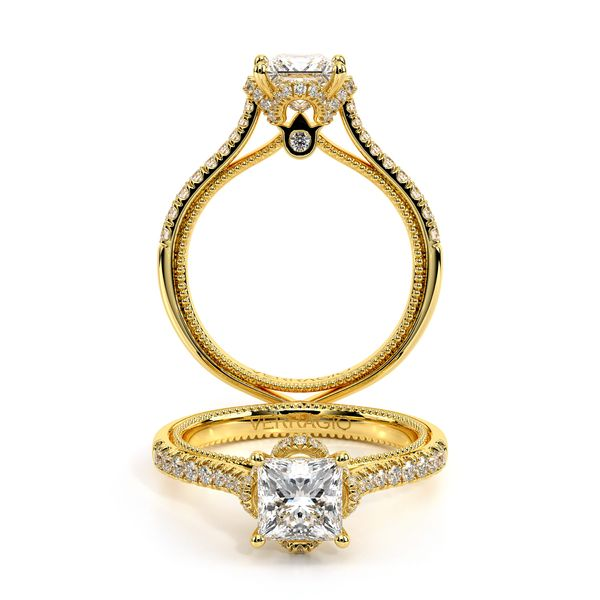 Couture Halo Engagement Ring SVS Fine Jewelry Oceanside, NY