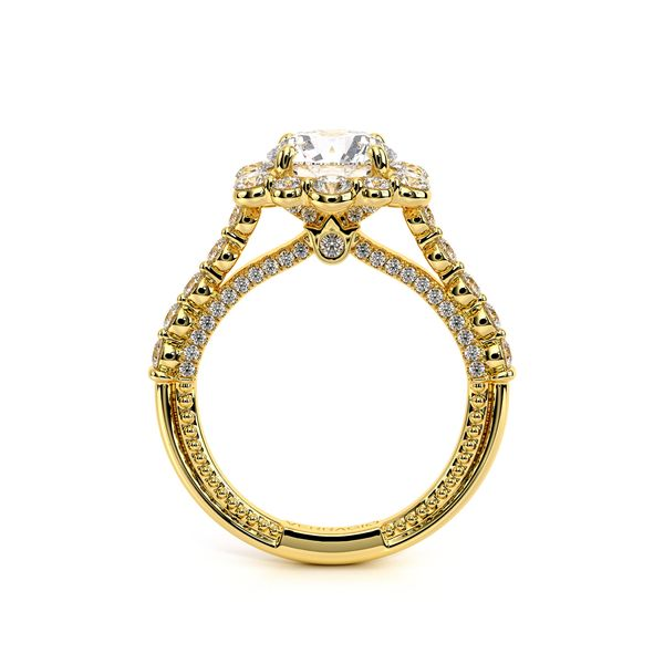 Couture Halo Engagement Ring Image 4 SVS Fine Jewelry Oceanside, NY