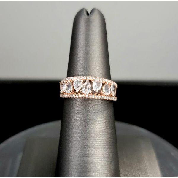 Morganite and Diamond Ring Vulcan's Forge LLC Kansas City, MO