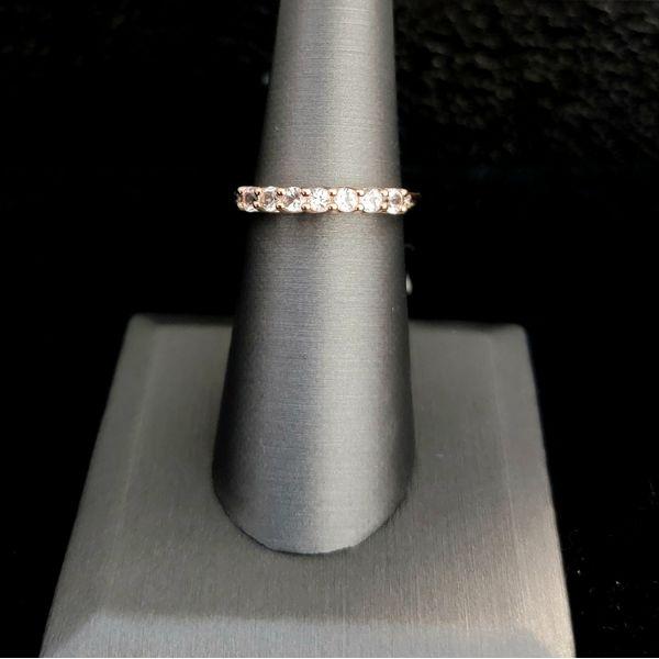 Morganite Rose Gold Ring Vulcan's Forge LLC Kansas City, MO