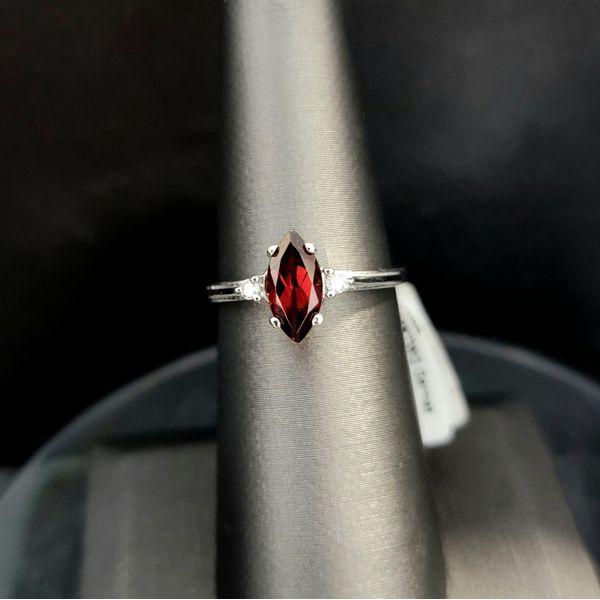 10KTWG Garnet Ring Vulcan's Forge LLC Kansas City, MO