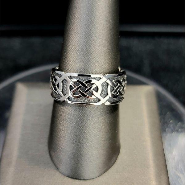 Sterling Silver Celtic Ring Vulcan's Forge LLC Kansas City, MO