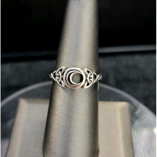 Sterling Silver Moon Ring Vulcan's Forge LLC Kansas City, MO