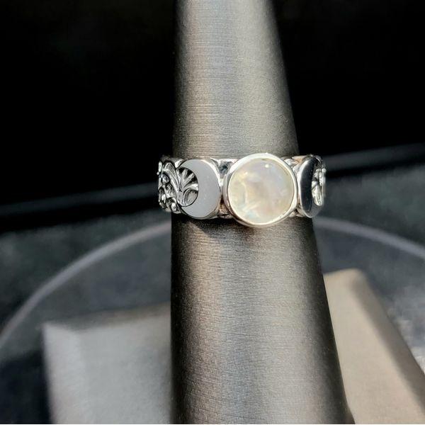 Sterling Silver Triple Goddess Ring Vulcan's Forge LLC Kansas City, MO