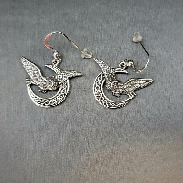 Sterling Silver Celtic Earrings Vulcan's Forge LLC Kansas City, MO