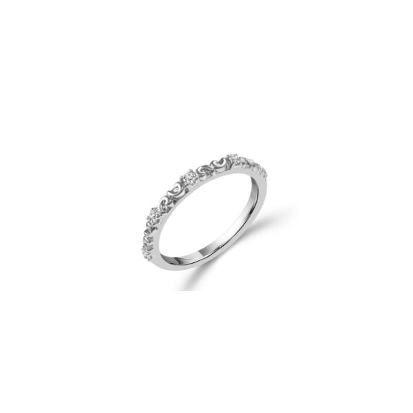 10KW  1/10ctw Diamond Scroll Band Waddington Jewelers Bowling Green, OH