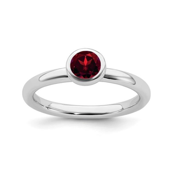 January Birthstone Ring Waddington Jewelers Bowling Green, OH