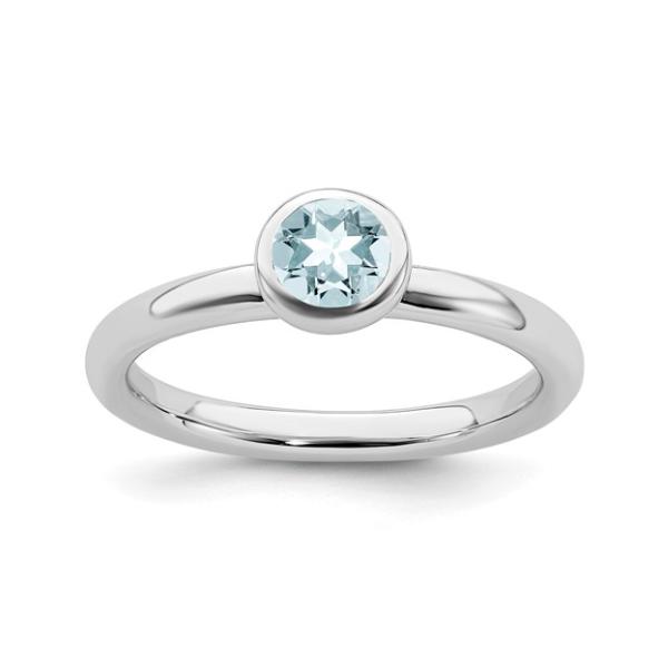 March Birthstone Ring Waddington Jewelers Bowling Green, OH
