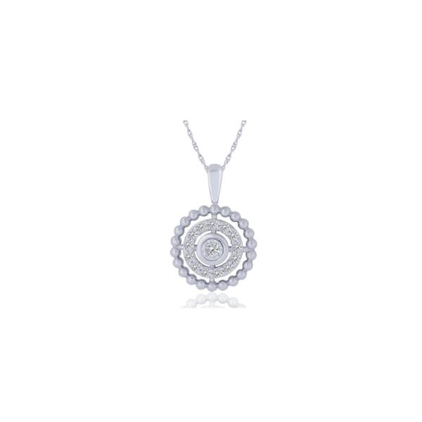 10KW .25 Diamond Vintage Circle Pendant Waddington Jewelers Bowling Green, OH