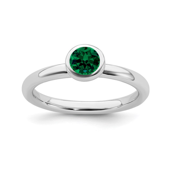 May Birthstone Ring Waddington Jewelers Bowling Green, OH