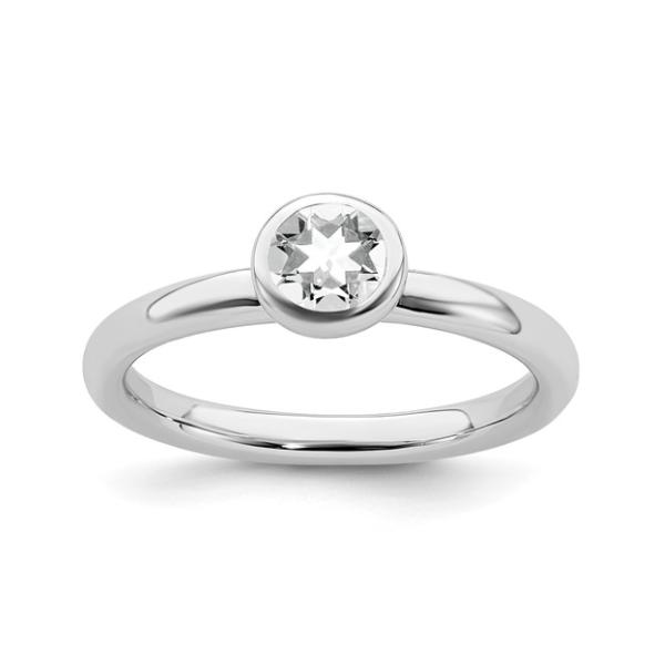 April Birthstone Ring Waddington Jewelers Bowling Green, OH