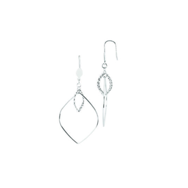 Sterling Silver Marquise Drop Earrings Waddington Jewelers Bowling Green, OH